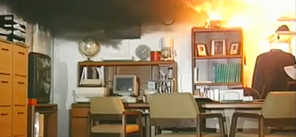Prevenir los incendios en la oficina